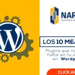 10 Plugins de wordpress imprescindibles en tu sitio web